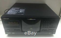 Pioneer PD-F1007 301 Disc CD Player Changer No Remote Tested and Working