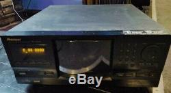 Pioneer PD-F1009 301-Disc CD Player Carousel Changer Intact & Working No Remote