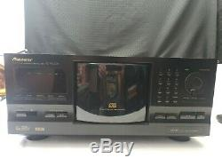 Pioneer PD-F1009 301-Disc CD Player Changer Optical Digital with manual/remote