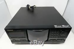 Pioneer PD-F1009 301-Disc CD Player Changer Tested Works Great NO Remote