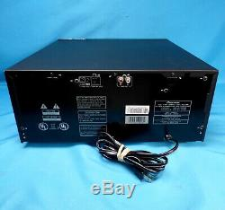 Pioneer PD-F1009 CD Player 301 Disc CD Changer With Remote Works Excellent