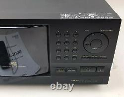 Pioneer PD-F1009 CDFile 301 Compact Disc CD Changer Player New Belts With Remote