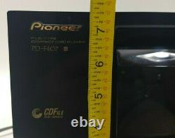Pioneer PD-F407 File Type 25 Compact Disc CD Player Changer No Remote Tested