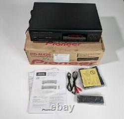 Pioneer PD-M426 CD player 6 Disc Changer