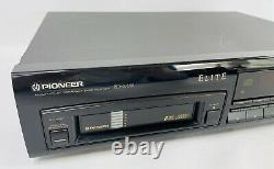 Pioneer PD-M59 Elite Series CD Player 6 Disc Changer Audiophile. No Remote