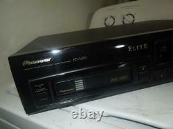 Pioneer PD-M59 Elite Series CD Player 6 Disc Changer Audiophile Works Great