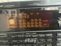 Pioneer PD-TM2 18 disc player With 4 cartridges magazines mega cd changer! Pulse