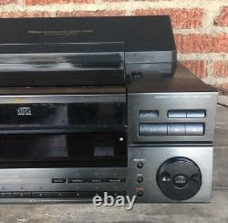 RARE Sony CDP-CX100 CD Changer 100 Disc Player NO Remote WORKS GREAT