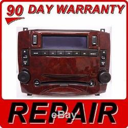 REPAIR FIX YOUR 03 04 05 06 07 CADILLAC CTS SRX Radio 6 Disc Changer CD Player