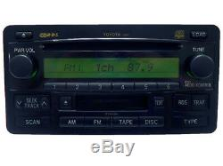 REPAIR SERVICE ONLY TOYOTA Sequoia Tundra JBL Radio 6 Disc Changer CD Player