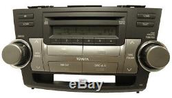 REPAIR SERVICE ONLY Toyota Highlander Radio 6 Disc Changer CD Player FIX OEM JBL