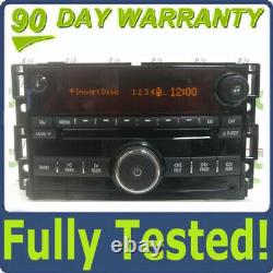 SATURN Sky Radio 6 Disc Changer CD Player Aux ipod input Factory OEM 15857650