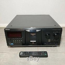 SERVICED, TESTED 100%! Complete Sony CDP-CX355 300-disc CD changer / player