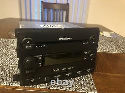 SHAKER 500 AM FM Radio From 2005 Mustang 6 CD DISC Changer MP3 Player
