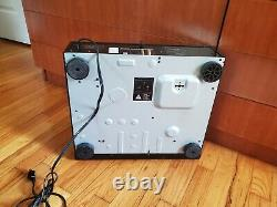 SONY CDP-C701ES 5 Disc Changer CD Player With Remote / Original purchase receipt