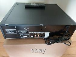 SONY CDP CA-9ES 5-DISC CD CAROUSEL PLAYER CHANGER WithREMOTE. LEGENDARY, VERY RARE