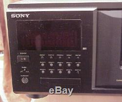 SONY CDP-CX555ES === 300 Disc CD Changer Player withDigitalOutput & Remote Control