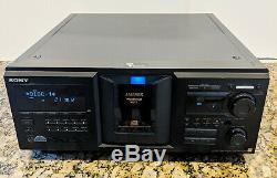 SONY CDP-M555ES 400-Disc Mega Storage CD Player Changer Jukebox WithDigital Manual