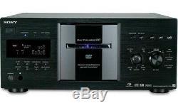 SONY DVP-CX777ES Disk Explorer 400-Disc CD/DVD Changer Player BlackBRAND-NEW