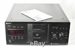 SONY DVP-CX777ES Elevated Standard 400 Disc DVD/CD Player Changer withManual