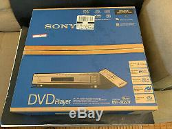 SONY DVP-NC80V 5 DISC CD DVD Player Changer Black Color NEW SEALED BOX