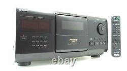 Sony 200 CD Compact Disc Multi Player Carousel Changer Bundled Remote CDP-CX200