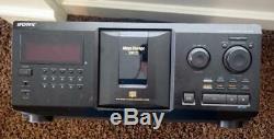 Sony 300 Disc CD Changer Player Jukebox CDP-CX300 Mega Storage 300