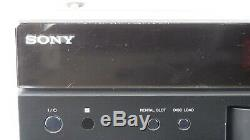 Sony 400 Disc Changer BDP-CX960 Blu-ray DVD Player with Remote Works Perfectly