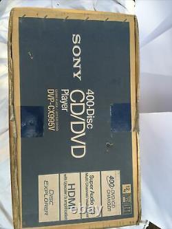 Sony 400 Disc DVP-CX995V CD DVD SACD Disc Changer Player HDMI NEW SEALED IN BOX