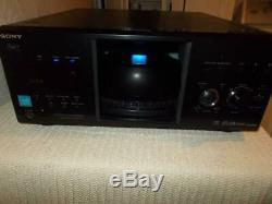 Sony 400 disc DVD CD player/changer Disc Explorer 400 DVP-CX995V