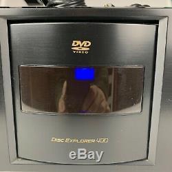 Sony 400 disc DVD CD player/changer Disc Explorer 400 DVP-CX995V Carousel HDMI