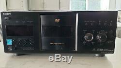 Sony 400 disc DVD CD player/changer Disc Explorer 400 DVP-CX995V HDMI, NO REM