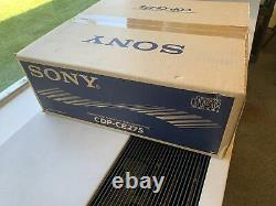 Sony 5 CD Compact Disc Changer Player CDP-CE275 In Box