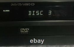 Sony 5 Disc DVD Player Changer DVP-NC600 CD, VCD, DVD-USED Condition But Excellent