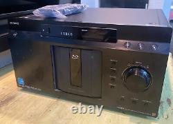 Sony BDP-CX7000ES 400 Blu-ray Player Disc Mega Changer With Remote & Power Cord