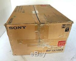 Sony BDP-CX7000ES 400 Disc Blu-ray Player Mega Changer