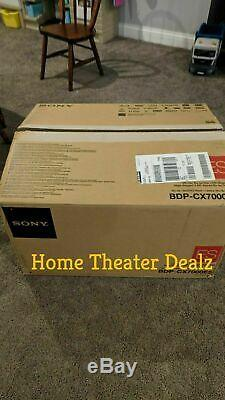 Sony BDP-CX7000ES 400 disc blu-ray changer/ player Brand-New