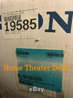 Sony BDP-CX960 400 disc blu-ray changer/ player -Fact. Refurb. Like BDP-CX7000ES