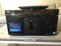Sony BDP-CX960 Blu-ray Player 400 Disc Changer Very Good Condition! With Remote