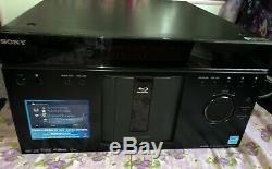 Sony Bdp-cx960 400-disc Mega Changer Blu-ray Player Great Condition With Remote