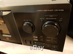 Sony CD player changer CDP-CX355 300-Disc MegaStorage CD Changer