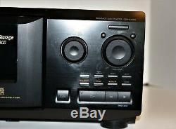 Sony CD player changer CDP-CX355 300-Disc MegaStorage CD Changer New Belts