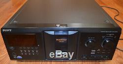 Sony CD player changer CDP-CX355 300-Disc MegaStorage. New Belts