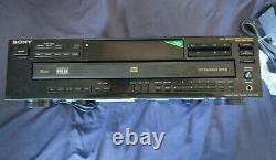 Sony CDP-C535 5 Disc Carousel CD Changer Player Compact Disc