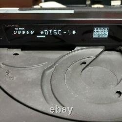 Sony CDP-C701ES 5 Disc Changer CD Player tested & working HD Linear Converter