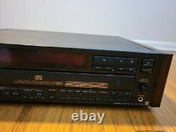 Sony CDP-C79ES 5 Disc CD Changer, Player - Wood Side Panels