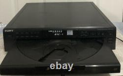 Sony CDP-CE405 5-Disc CD Player Stereo Changer Revolving Carousel -Excellent
