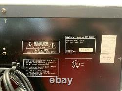 Sony CDP-CX100 100-Disc CD Player Changer Remote & Manual Digital Optical Out
