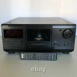 Sony CDP-CX205 Mega Storage 200 Disc CD Changer Player With Remote Tested