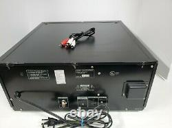 Sony CDP-CX220 Mega Storage 200 CD Compact Disc Changer Player TESTED Vid Link